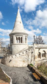 Fishermans Bastion in Budapest — Stock Photo