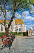 Matthias kyrkan i Buda Castle district — Stockfoto