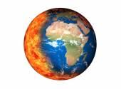 глобальное потепление — Стоковое фото