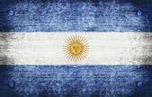 Flagge argentinien — Stockfoto