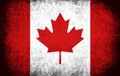 Kanada flagga — Stockfoto