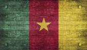 Cameroon Flag — Stockfoto