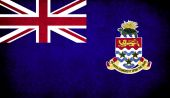 The National Flag of the Cayman Islands UK — Stock Photo
