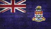 La bandera nacional del reino unido islas caimán — Foto de Stock
