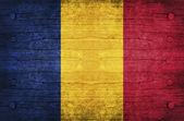 Tschad-flag — Stockfoto