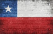 Chile Flag — Stockfoto