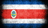 The National Flag of the Costa Rica — Stock Photo