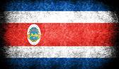 Die nationalflagge costa ricas — Stockfoto