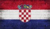La bandera nacional de la croacia — Foto de Stock