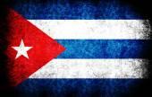 La bandera nacional de la cuba — Foto de Stock