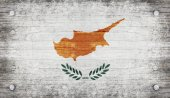 The National Flag of the Cyprus — Stock Photo