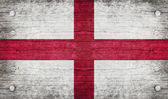 The National Flag of the England — Stock Photo