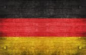 The National Flag of the Germany — Stock Photo