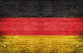 Národní vlajka německa — Stock fotografie