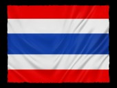 Flaga Tajlandii tło — Zdjęcie stockowe