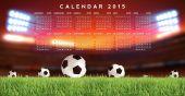 Calendario 2015 — Foto Stock