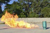 Practice fire drills — Foto de Stock