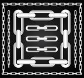 Chain Link — Stock Vector