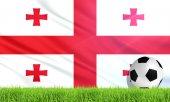 グルジアの国旗 — ストック写真