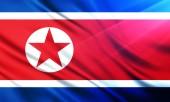 朝鲜国旗 — 图库照片
