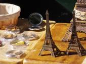 Souvenirs from Paris — Stock Photo
