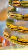 Macaron coloful dessert — Stock Photo