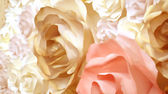 Roses flower wedding valentine background painting — Stock Photo