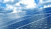 Células solares — Foto Stock