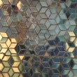 Colourful stained glass. Abstract rotating illuminated shapes — Stock Video #58329531