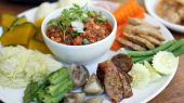 Northern thai traditional food — Stock Photo