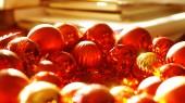 Kerst ornamenten achtergrond — Stockfoto