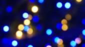 Blur blue light illuminated abstract background — Stock Photo