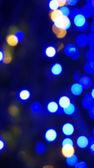 Blur blue light background — Stock Photo