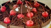 Colourful ice cream cake — Foto de Stock