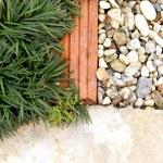 Garden path stone and grass — Stock Photo #68600663
