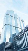 Modern glass building — Stock Photo