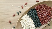 Red and black Beans — Stock Photo