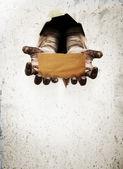 Scary hand — Stock Photo
