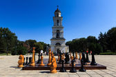 Cathedral Park on August 21, 2014 in Chisinau, Moldova. Nativity — Stock Photo