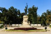 Monument of Stefan cel Mare si Sfant (Stefan the Great and Holy) — ストック写真