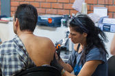 1st Thessaloniki International Tattoo Convention — Foto de Stock