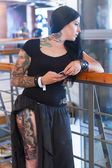 1st Thessaloniki International Tattoo Convention — Stock Photo