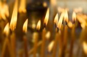 Fondo de velas — Foto de Stock