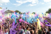 3rd Colors day event in Thessaloniki Greece — Stock Photo