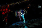 Performers skipping Rope at Cirque du Soleil's show 'Quidam'  — Stock Photo