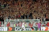 EA GUINGAMP VS PAOK FC EUROPA LEAGUE — Foto Stock