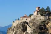 The Holy Monastery of Varlaam, in Greece. The Holy Monastery of  — Photo