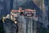 Het heilige klooster van Rousanou St. Barbara, in Griekenland, werd gevonden — Stockfoto