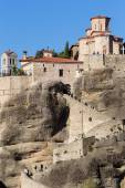 The Holy Monastery of Great Meteoron, in Greece. This is the lar — Stockfoto