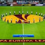 PAOK VS FIORENTINA UEFA EUROPA LEAGUE — Stock Photo #59965445